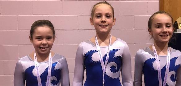 Bronze for Gymnasts
