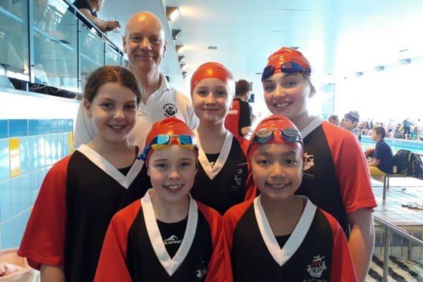 Swimming to Regional Championships
