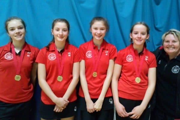 Regional Badminton Champions