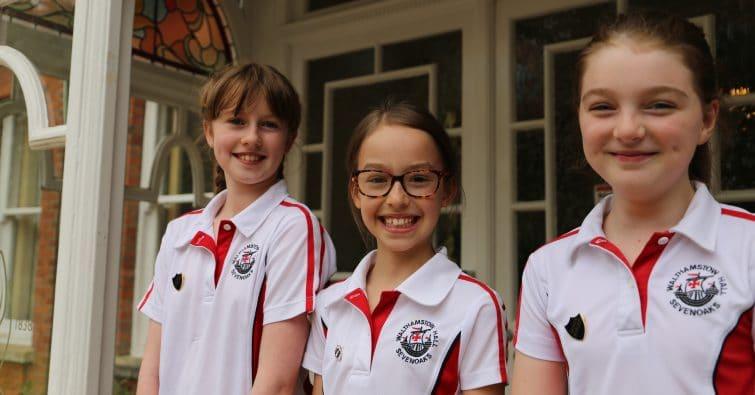 Junior Head Girl Team