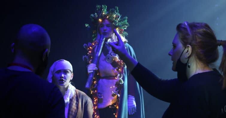 Filming A Christmas Carol
