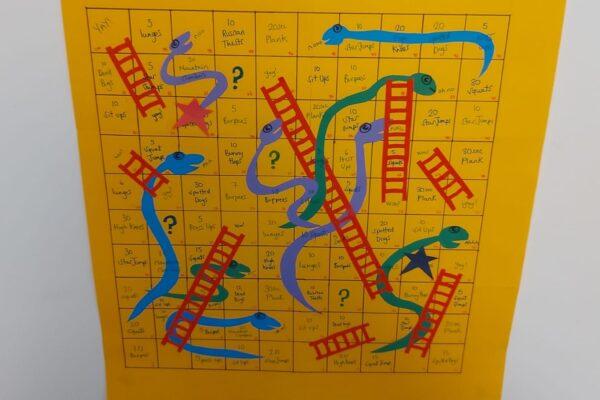 Snakes, Ladders & Burpees!