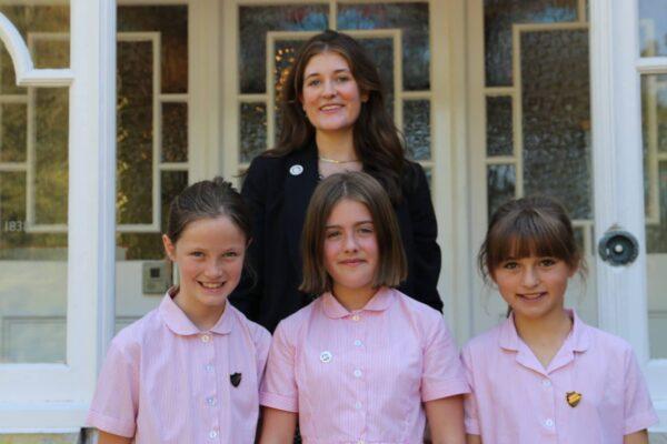 Junior School Head Girl Team